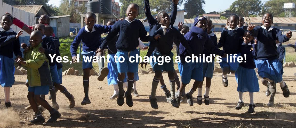 Yes, I want to change a child's life!