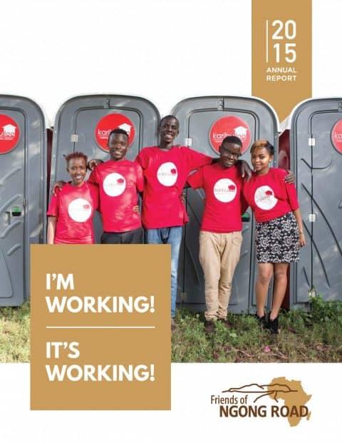 2015 Annual Report Cover Photo