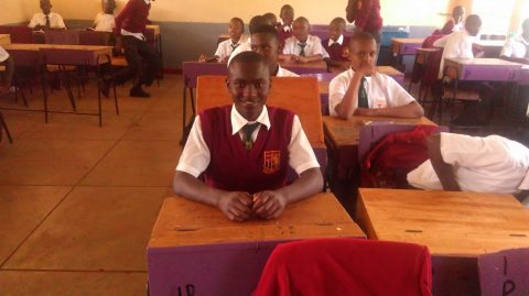 NRCA student at class