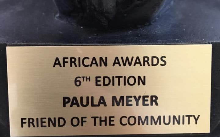African Awards Trophy