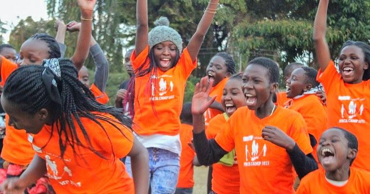 Students in Orange